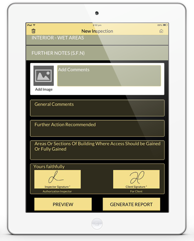 Homeworthy Inspections Reporting App Mobile App